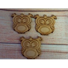 Laser Cut Owl 45mm